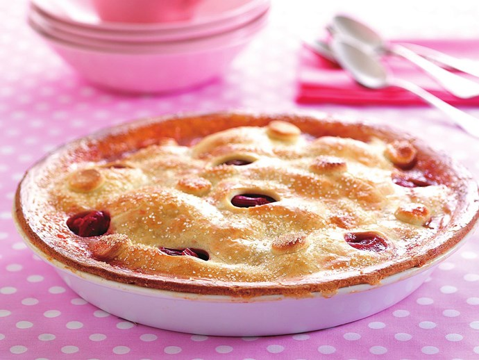 quince and rhubarb pie