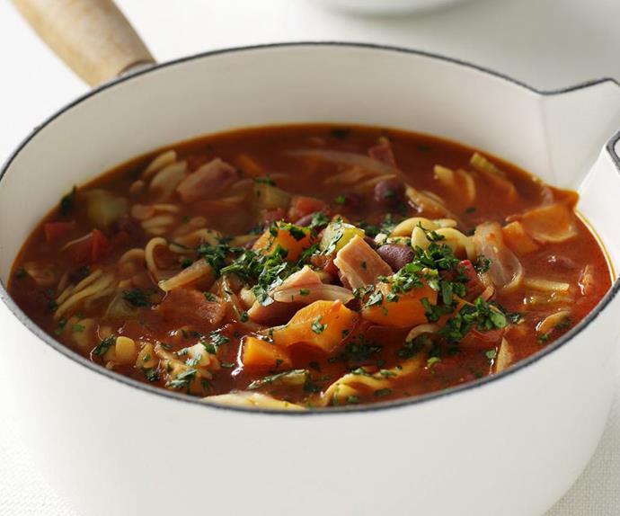 Quick & easy minestrone