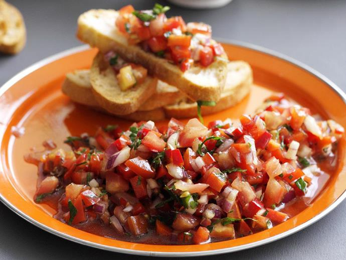 """**[Tomato and pomegranate salad](https://www.womensweeklyfood.com.au/recipes/tomato-and-pomegranate-salad-10941