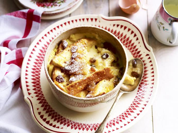 """**[Fig bread and butter pudding](https://www.womensweeklyfood.com.au/recipes/fig-bread-and-butter-pudding-11035