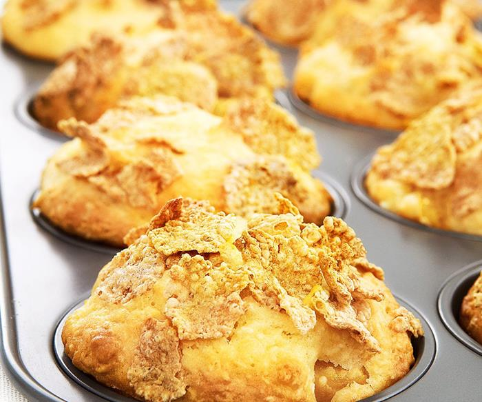crunchymango & coconut muffins