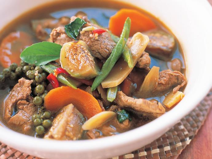 """**[Pork jungle curry](https://www.womensweeklyfood.com.au/recipes/pork-jungle-curry-11115