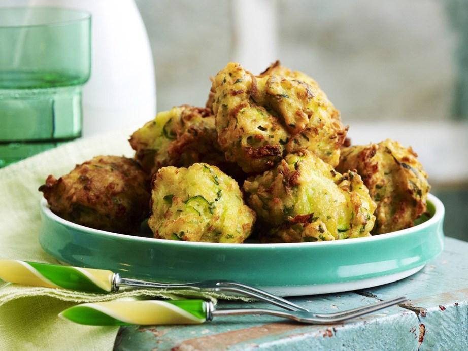 "**[Deep-fried zucchini balls](https://www.womensweeklyfood.com.au/recipes/deep-fried-zucchini-balls-11135 target=""_blank"")**"