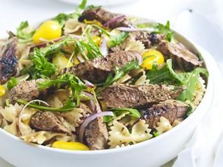 lamb and pasta salad