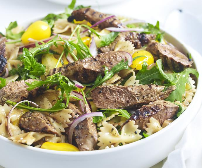 lamb and pasta salad