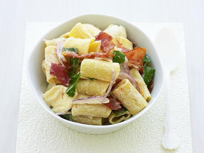 "**[Tomato chutney pasta salad](https://www.womensweeklyfood.com.au/recipes/tomato-chutney-pasta-salad-10711|target=""_blank"")**"