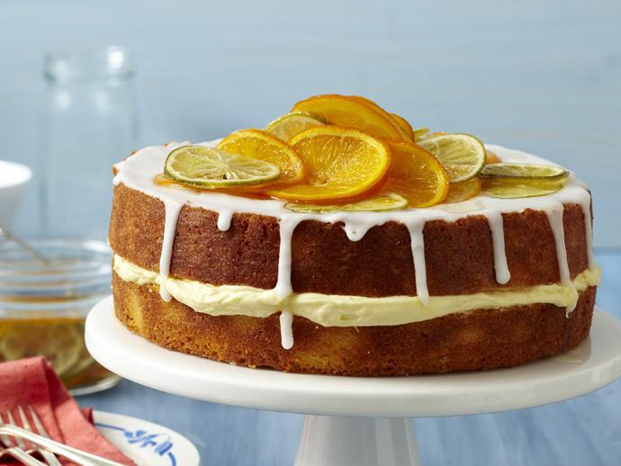 """**[Candied citrus cake](https://www.womensweeklyfood.com.au/recipes/candied-citrus-cake-10745