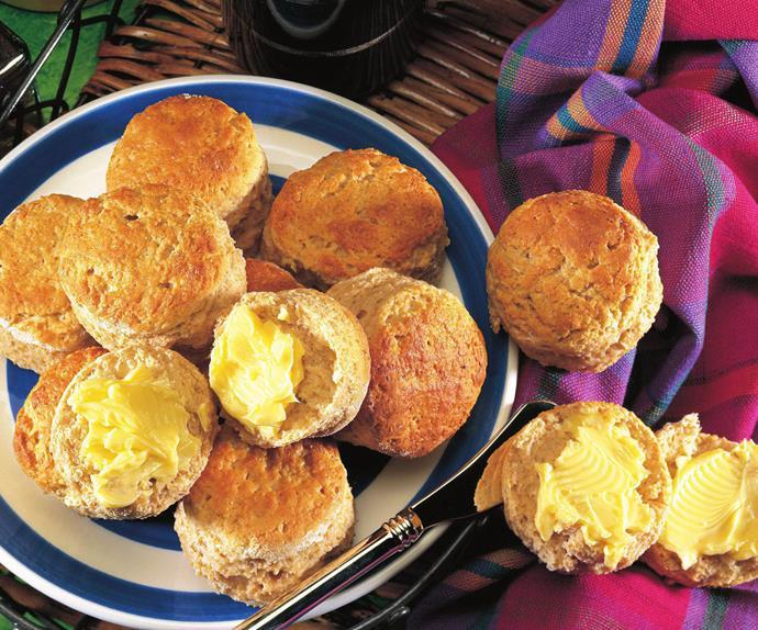 honey wholemeal scones