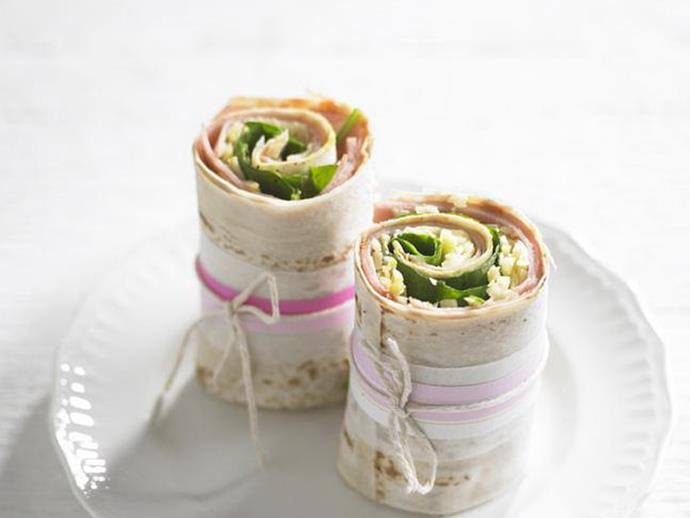 "**[Pastrami & cheese wrap](https://www.womensweeklyfood.com.au/recipes/pastrami-and-cheese-wrap-4284|target=""_blank"")**"