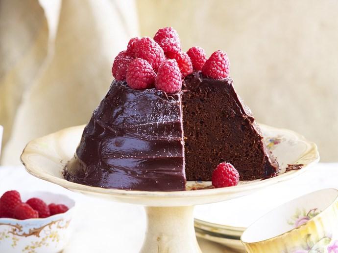 rich chocolate cake