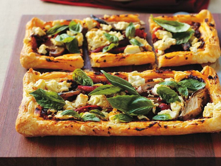 "Flaky pastry, crumbly feta and fresh pesto, there is no box our **[vegetable pesto tartlets](https://www.womensweeklyfood.com.au/recipes/vegetable-pesto-tartlets-10360|target=""_blank"")** doesn't tick."