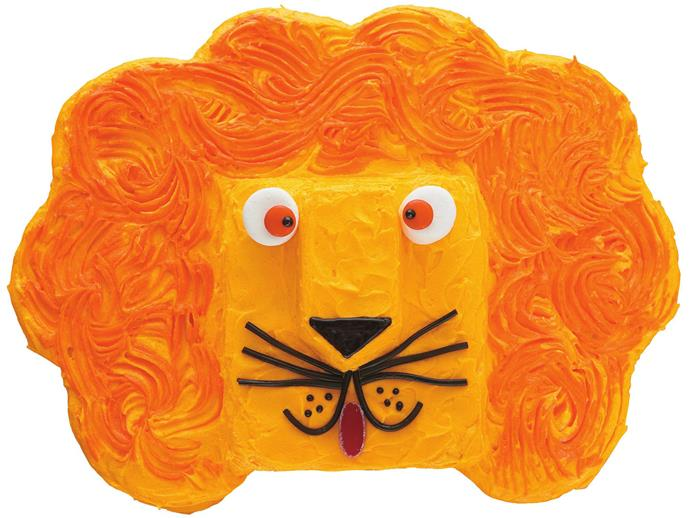"""**[Leonardo lion birthday cake](https://www.womensweeklyfood.com.au/recipes/leonardo-lion-4337