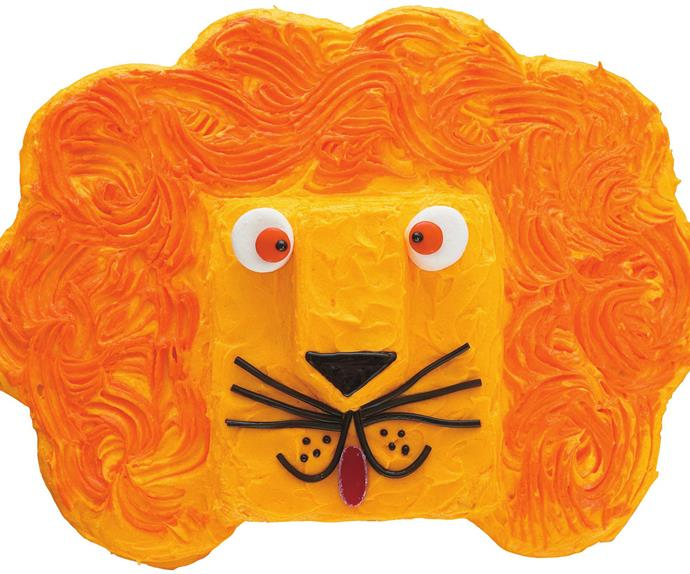 leonardo lion birthday cake