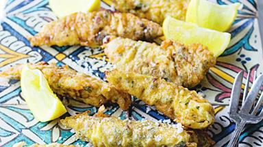 Crispy spiced fish
