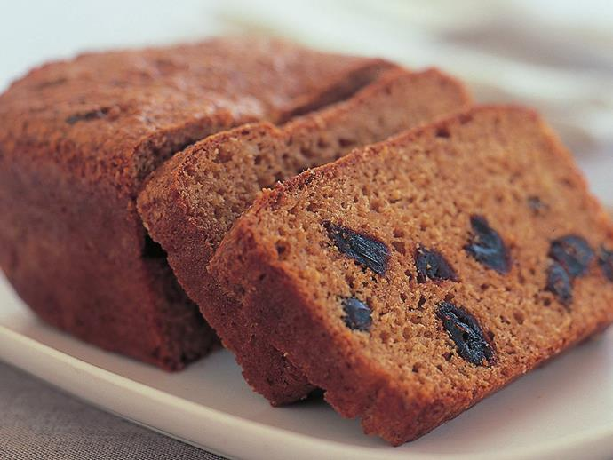 """**[Wholemeal date loaf](https://www.womensweeklyfood.com.au/recipes/wholemeal-date-loaf-10576