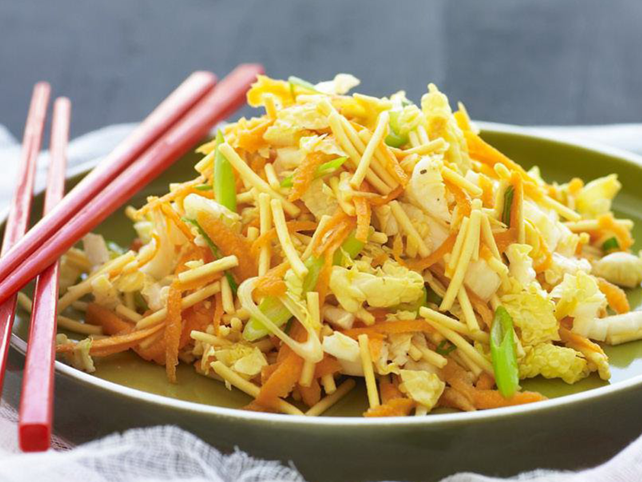 Commit error. asian style cole slaw sorry, that