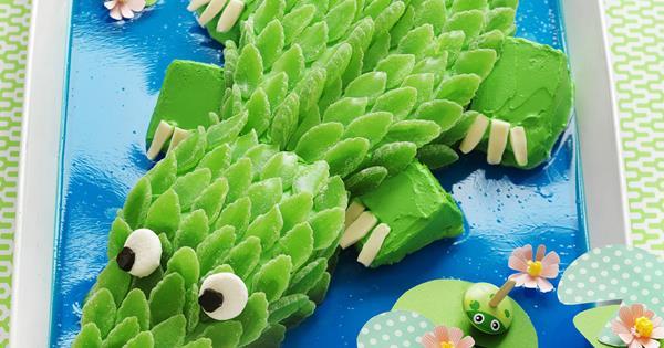 Kids Crocodile Cake Australian Womens Weekly Food