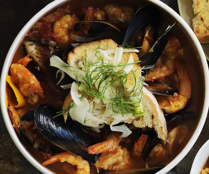 seafood stew with fennel