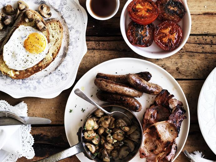 """**[Cooked English breakfast](https://www.womensweeklyfood.com.au/recipes/cooked-english-breakfast-4192