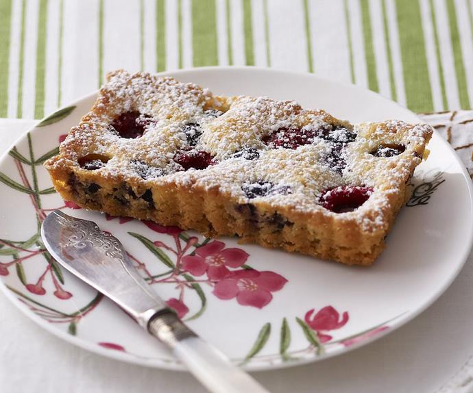 gluten-free berry tarts