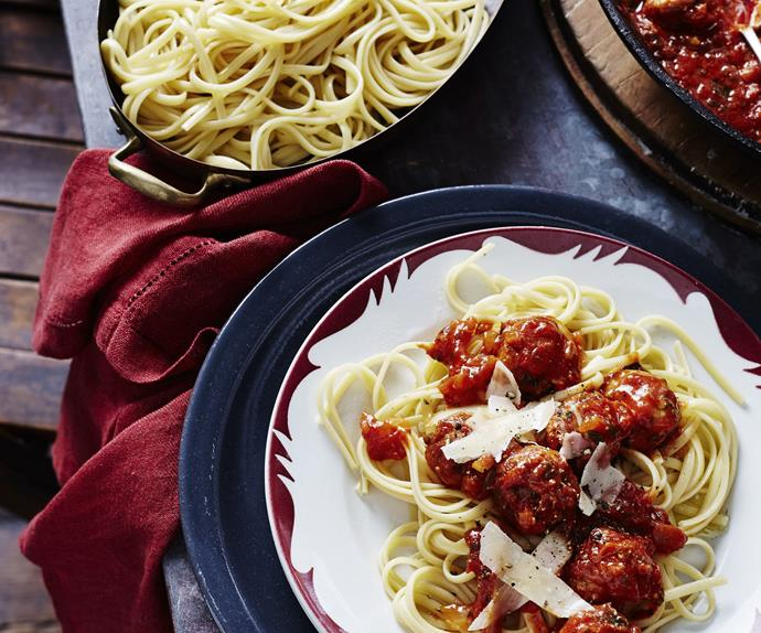 PORK&VEALMEATBALLS WITH FENNEL