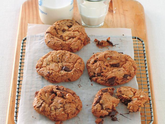 """**[Chunky chewy choc-chip cookies](https://www.womensweeklyfood.com.au/recipes/chunky-chewy-choc-chip-cookies-9969