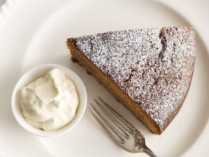 "**[Fresh ginger cake with golden ginger cream](https://www.womensweeklyfood.com.au/recipes/fresh-ginger-cake-with-golden-ginger-cream-9981|target=""_blank"")**"