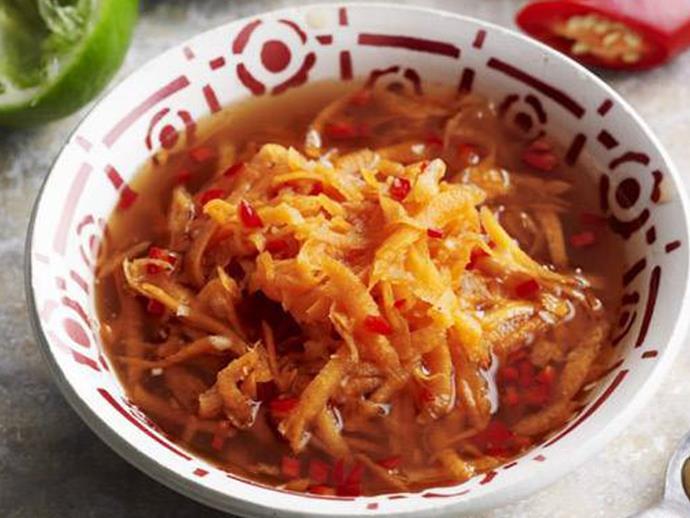 """**[Vietnamese carrot pickle](http://www.womensweeklyfood.com.au/recipes/vietnamese-carrot-pickle-9670 target=""""_blank"""")**"""