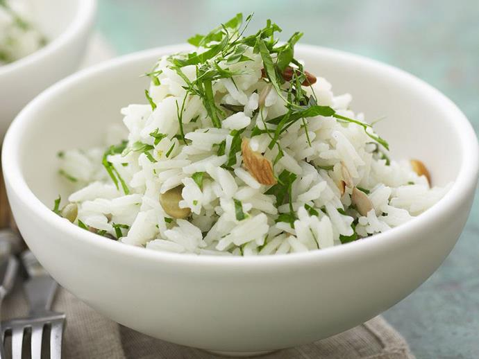 """Super simple and seriously zesty, this [lemon and lime rice salad](https://www.womensweeklyfood.com.au/recipes/lemon-and-lime-rice-salad-9282