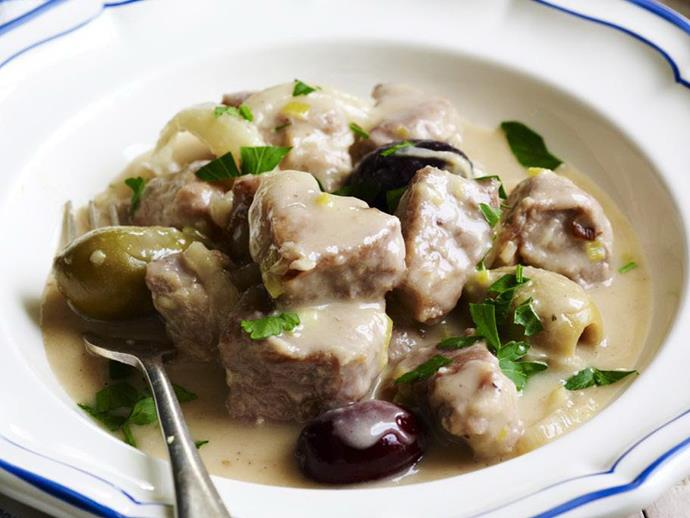 "[Pork, fennel and olive ragout](https://www.womensweeklyfood.com.au/recipes/pork-fennel-and-olive-ragout-3933|target=""_blank"")"
