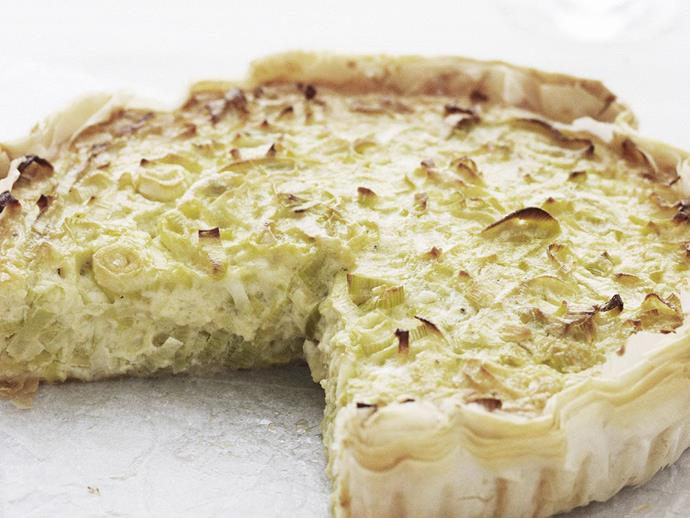 "**[Leek quiche](http://www.womensweeklyfood.com.au/recipes/leek-quiche-9395|target=""_blank""):** Soft and savoury, the light allium flavour of leek makes for a particularly unforgettable quiche."