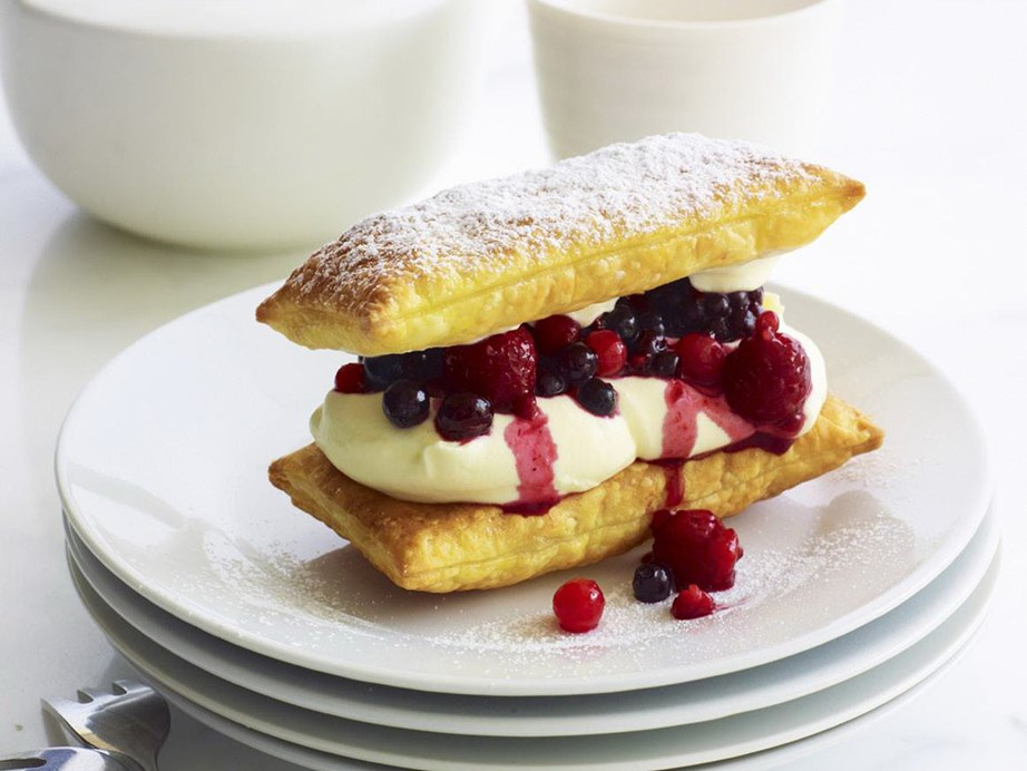 "Pillows of light and buttery puff pastry add an irresistible texture to this recipe for [matchsticks with citrus liqueur berries and mascarpone.](https://www.womensweeklyfood.com.au/recipes/matchsticks-with-citrus-liqueur-berries-and-mascarpone-9450|target=""_blank"")"