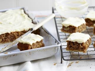 hummingbird squares with cream cheese frosting