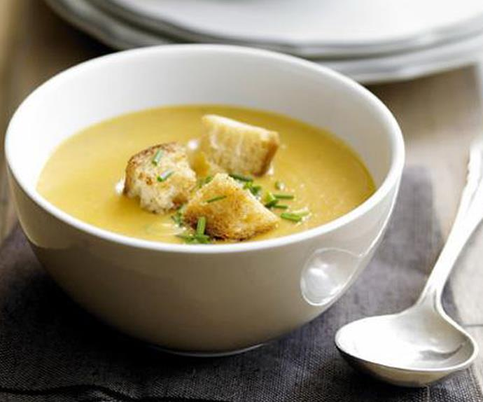 CREAMY PUMPKIN amp; POTATO SOUP
