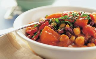 spicy bean casserole