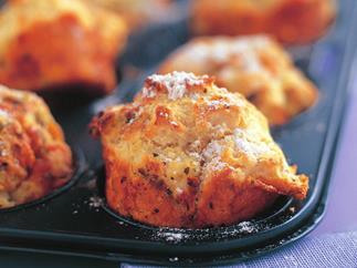 Mini muffin dampers