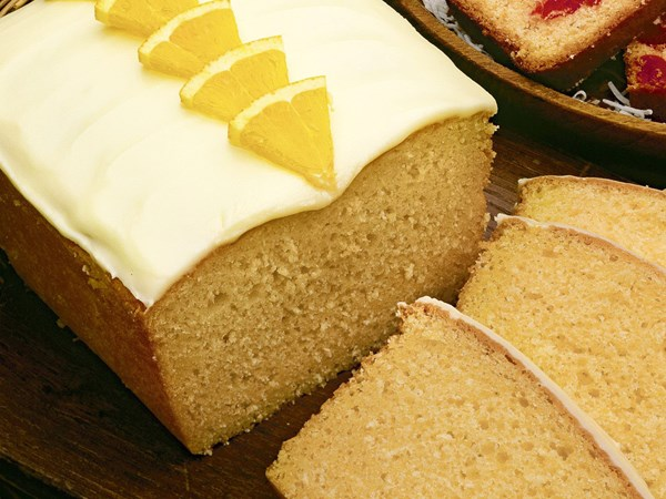 Orange Cake Icing Recipes: Orange Coconut Cake With Orange Icing Recipe