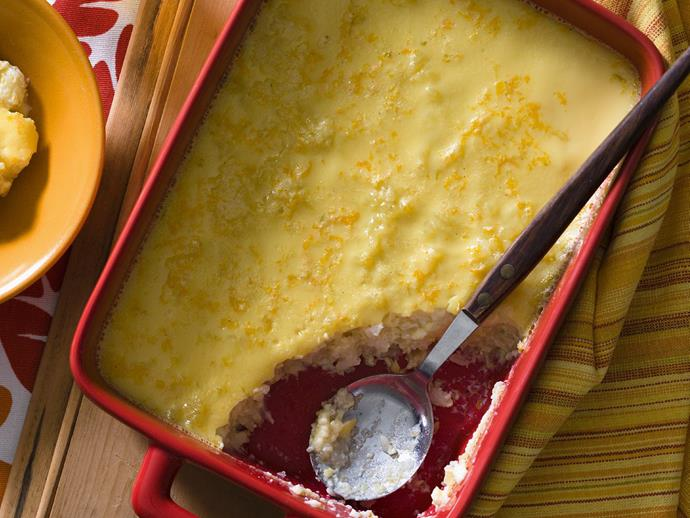 """**[Citrus rice pudding](https://www.womensweeklyfood.com.au/recipes/citrus-rice-pudding-9177 target=""""_blank"""")**"""