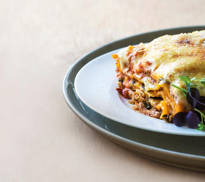 "**[Chicken and pumpkin lasagne](https://www.womensweeklyfood.com.au/recipes/chicken-and-pumpkin-lasagne-26501|target=""_blank"")**  Everyone loves lasagne! Try my nourishing twist on a family fave."