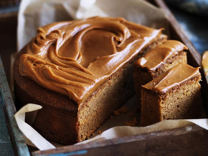"**[Triple-caramel mudcake](https://www.womensweeklyfood.com.au/recipes/triple-caramel-mudcake-9193|target=""_blank"")**"