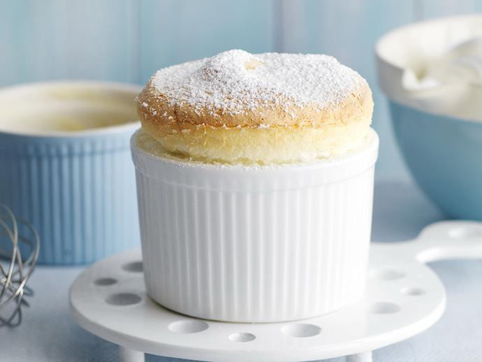 """**[Lemon curd souffles](https://www.womensweeklyfood.com.au/recipes/lemon-curd-souffles-9212