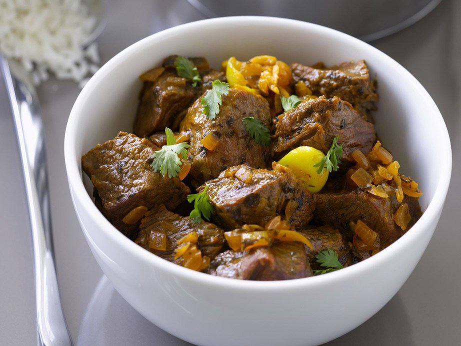 """Leaving aside the soupy curries for a second, this [Indian-style dry beef curry](https://www.womensweeklyfood.com.au/recipes/indian-dry-beef-curry-8644