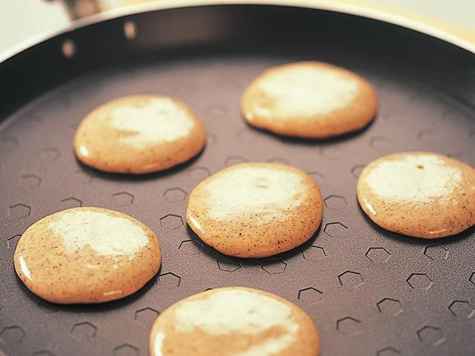 """**[Buckwheat blini](https://www.womensweeklyfood.com.au/recipes/buckwheat-blini-8683 target=""""_blank"""")**  Originally from Russia, blini are small, leavened buckwheat pancakes that are traditionally served with sour cream and caviar. They make a perfect base for any number of canapé toppings."""