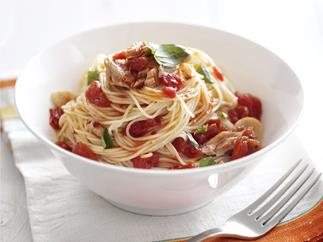 tuna and chilli pasta