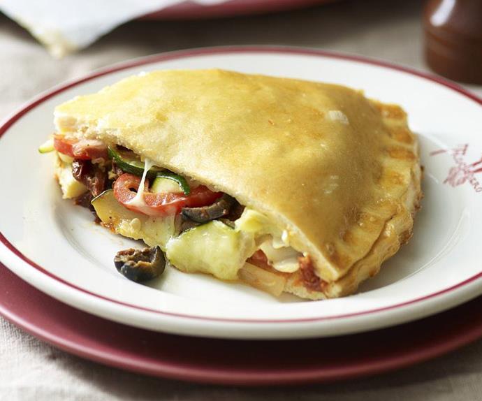 double-crust pizza