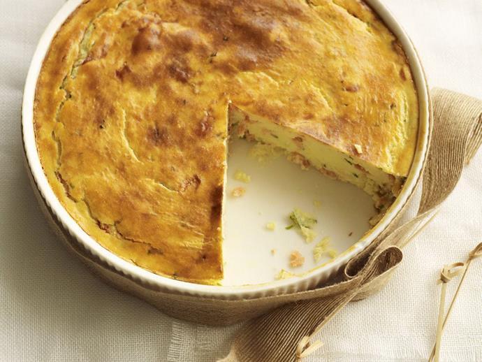 "[Smoked salmon pie](https://www.womensweeklyfood.com.au/recipes/smoked-salmon-pie-8900|target=""_blank"")"