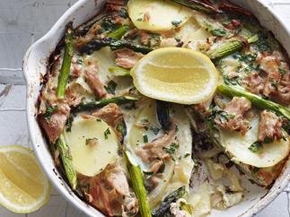tuna and asparagus frittata