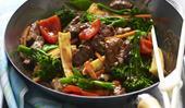 Garlic beef stir-fry