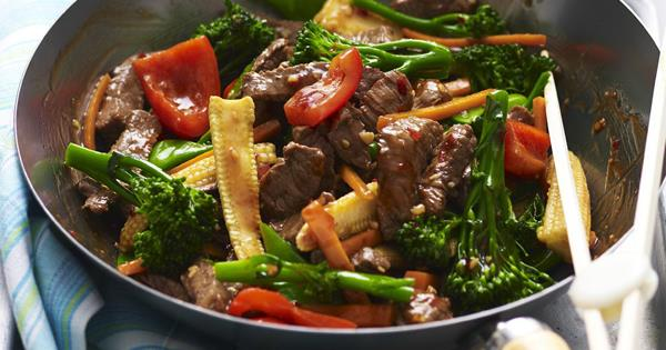 Garlic Beef Stir Fry Australian Women S Weekly Food