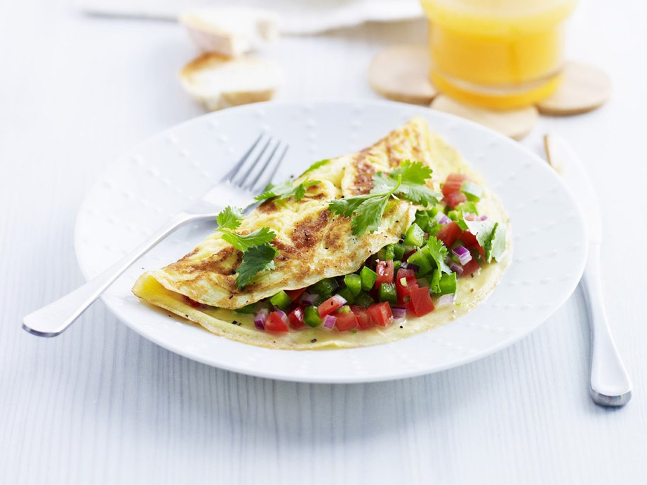 "**[Masala omelette](https://www.womensweeklyfood.com.au/recipes/masala-omelette-3459|target=""_blank"")** Spice up your breakfast omelette with this popular Indian recipe."